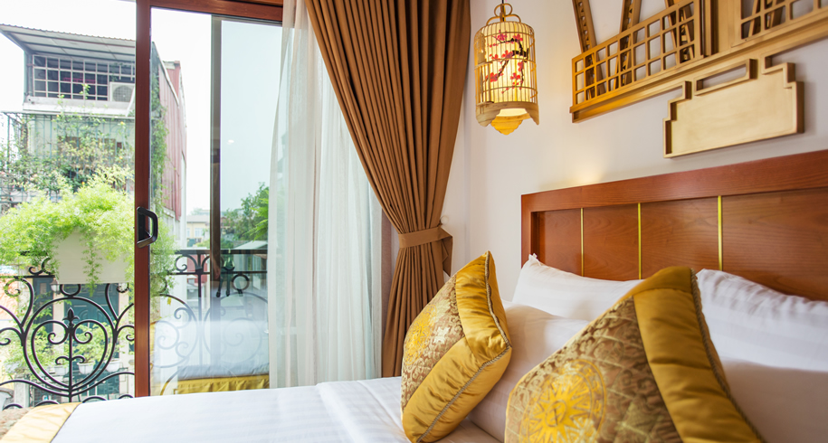 Golden Suite Double or Twin Balcony